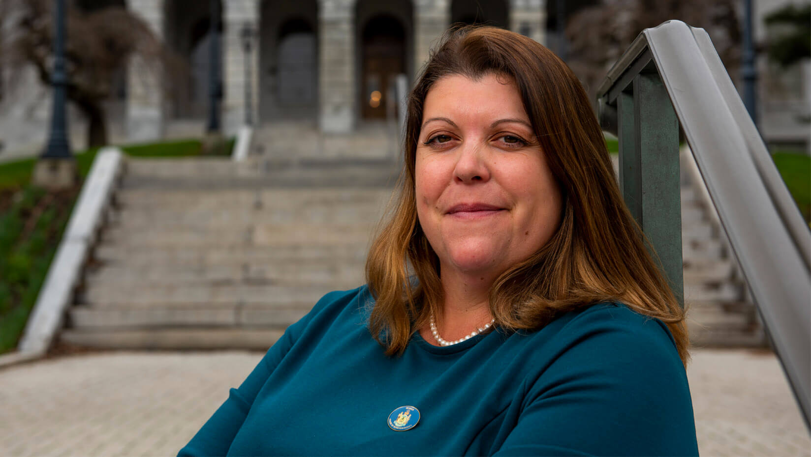featured image for Genevieve McDonald — a lobster boat captain and legislator — to graduate with highest distinction