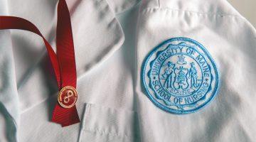 a nurse's whitecoat