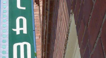 photo of the Alamo theatre sign