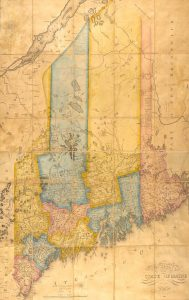 Moses Greenleaf, Map of the State of Maine (1820) image online at Osher Map Library.