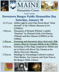 2016 bangor humanities day