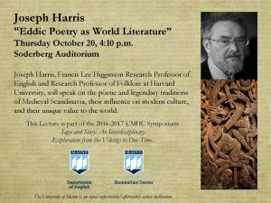 Oct 20_Eddic Poetry as World Literature_landscape