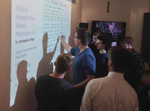 Digital Humanities Week 2013