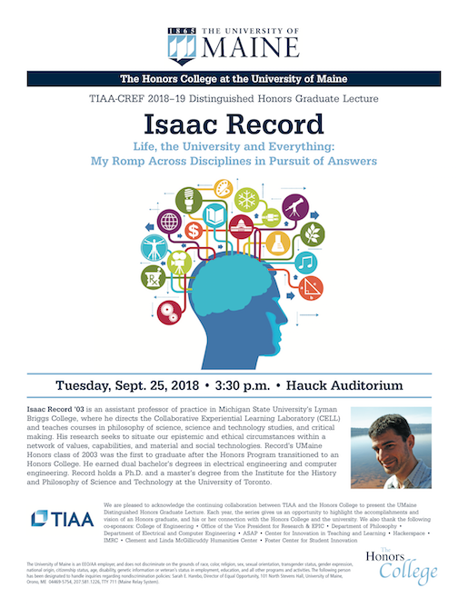 Isaac Record talk