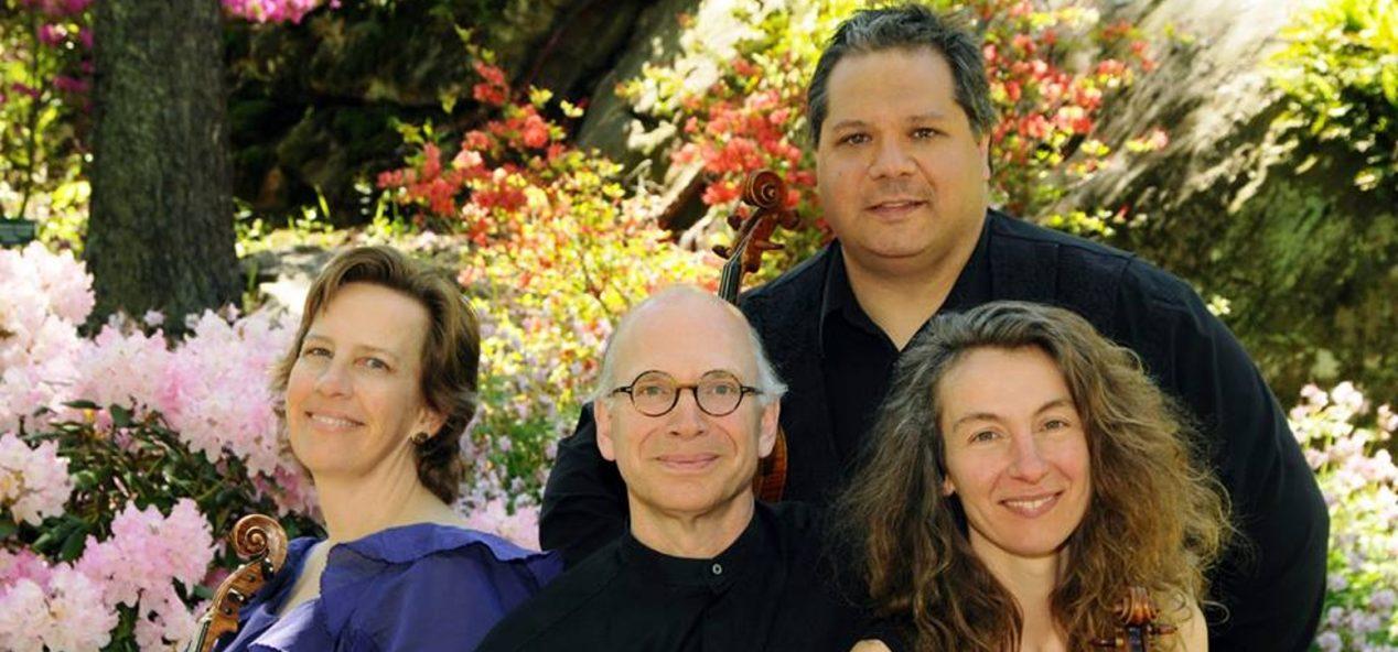 group photo of the daponte quartet