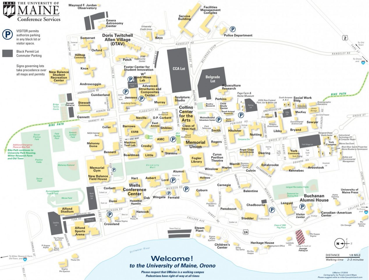 Amc Campus Map.Umaine Campus Map Www Naturalrugs Store