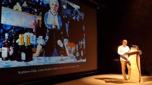 Humanities presentation speaker