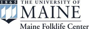 maine folklife center logo with full umaine crest