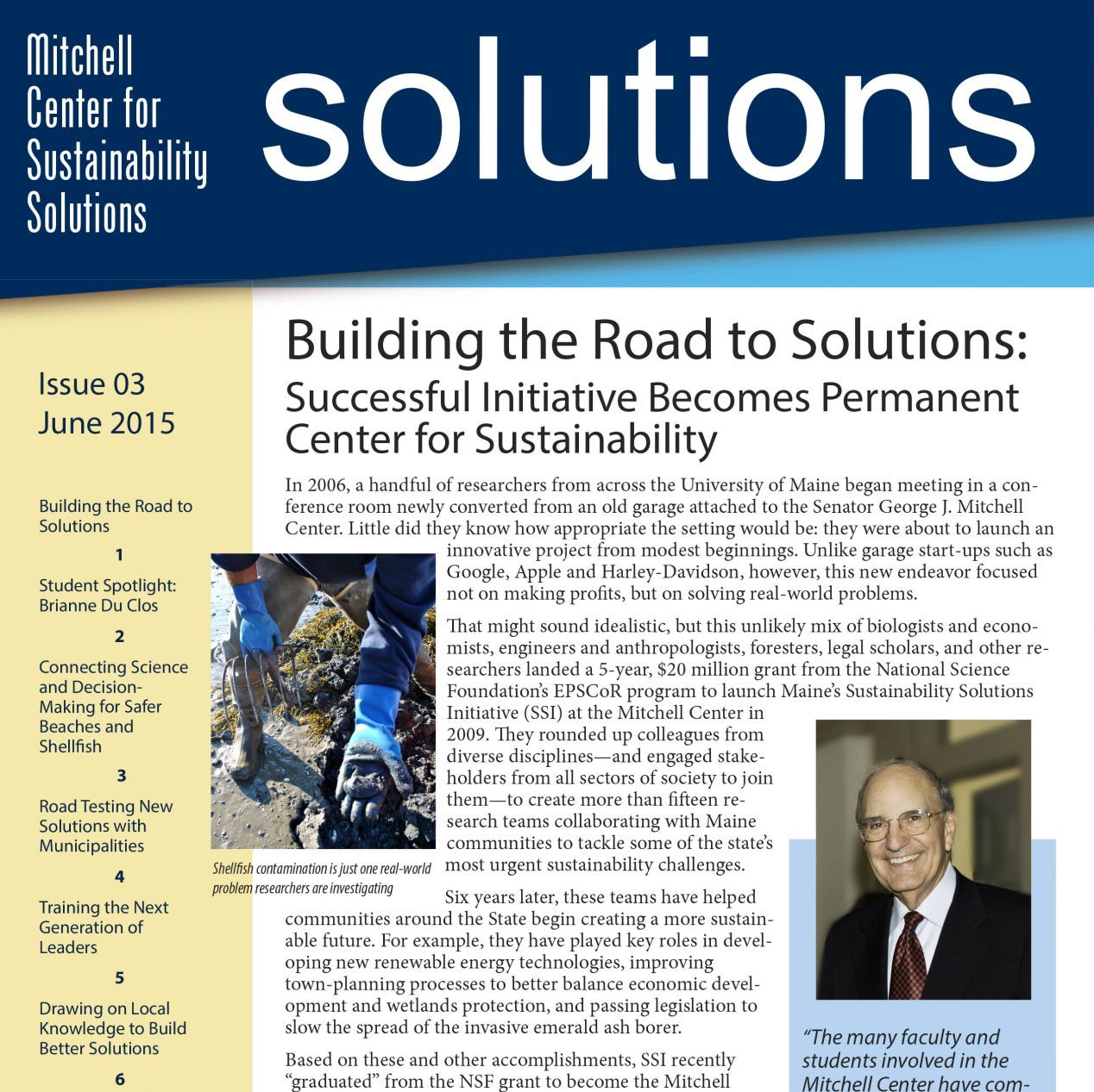 solution and issues How to combat global warming, malaria, hurricanes, and save the polar bears too.