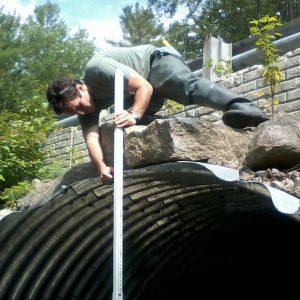 Measuring culvert