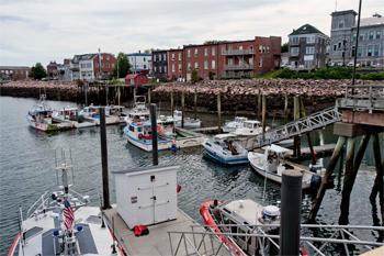 Eastport harbor
