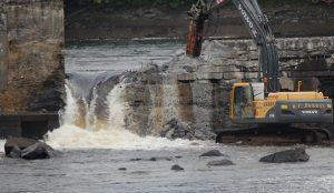 Great Works dam breach