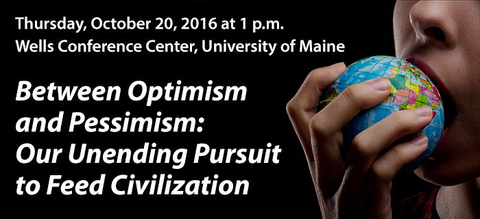 Between Optimism and Pessimism: Our Unending Pursuit to Feed Civilization