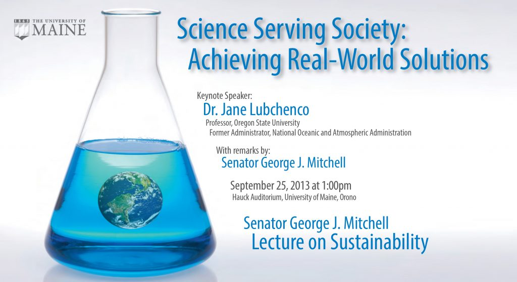 2013 Mitchell Lecture Postcard