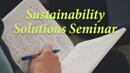 Sustainability Solutions Seminar