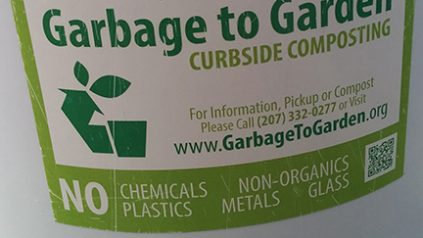 Garbage to Garden bucket