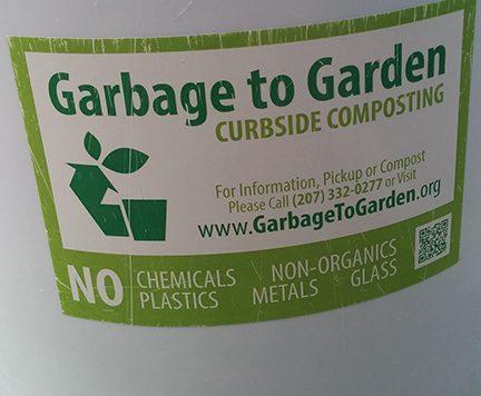 Garbage to Garden bucket