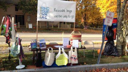 Image of stand publicizing BYOB York