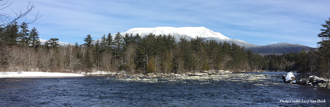 Katahdin from West Branch