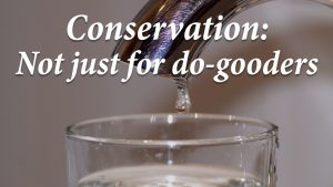 Conservation: Not just for do-gooders