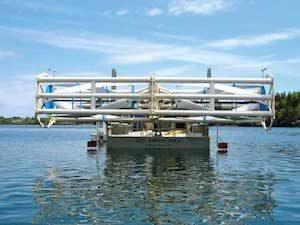 Turbine barge