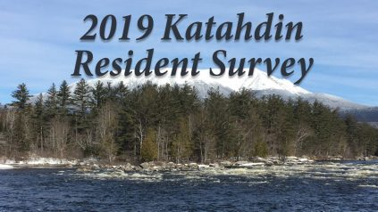 2019 Katahdin Resident Survey