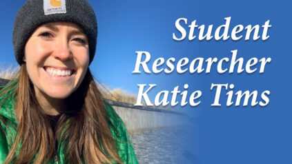 Student Researcher Katie Tims