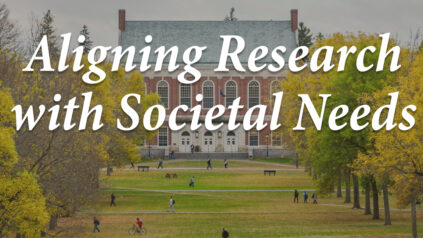 Aligning Research with Societal Needs