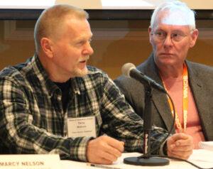 Terry Watson on third panel at Shellfish Focus Day