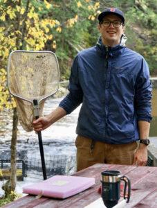 Matt Mensinger with net