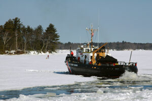 Kennebec River Ice Cutter