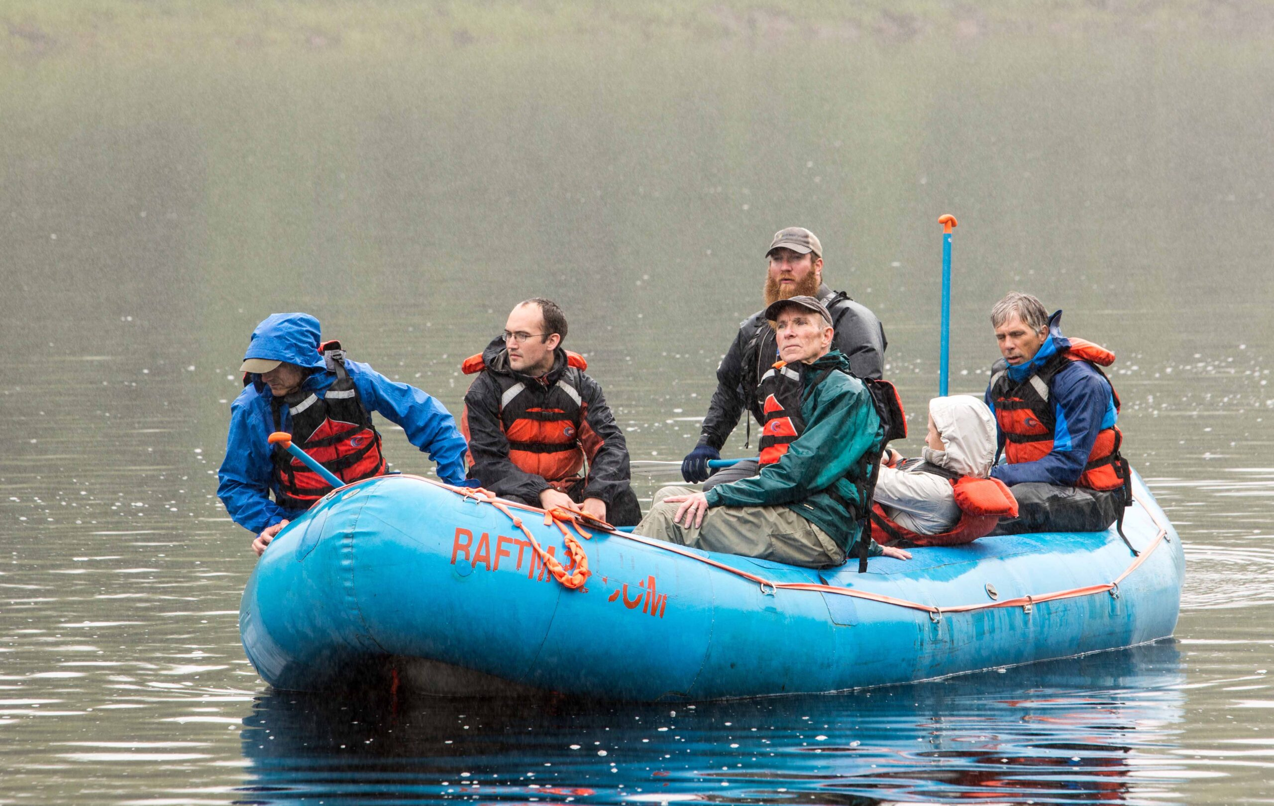 FoD rafting trip on Penobscot River