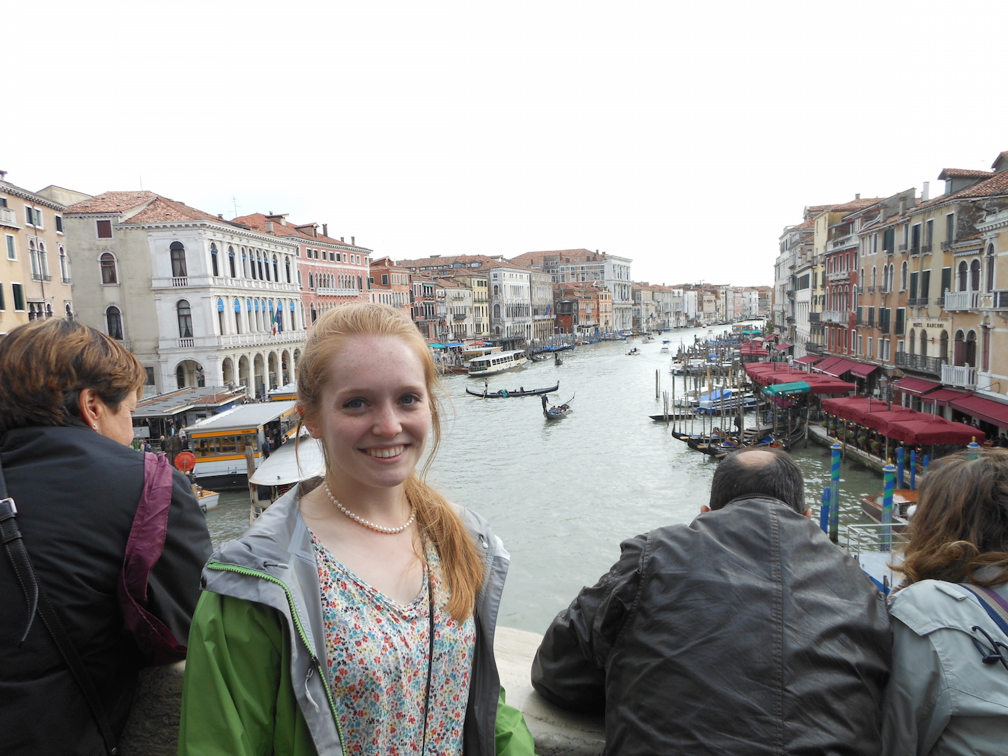 Molly Abrams in Italy