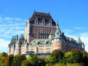 Chateau Frontenac spring