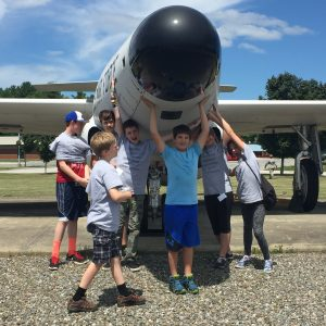 MSTI trip to Bangor Air Base