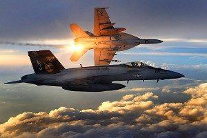 Aviation, US Navy Jets in Flight
