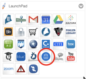 Screenshot of Navigate icon