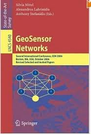 GeoSensor Networks book cover art