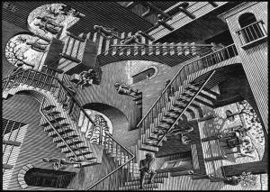 Escher Style Illusion