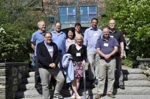 Attendees from original Young Scholars Institute in Wolf Neck , Maine
