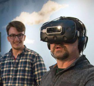 Photo of Virtual Reality experience