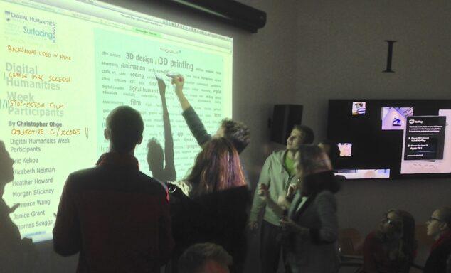 THATcamp at Digital Humanities Week, University of Maine
