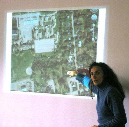 New Media professor Joline Blais, 2008