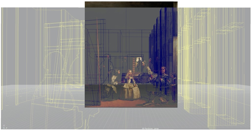 Karolina Kawiaka and John Bell, Diego Velazquez, Las Meninas in VR
