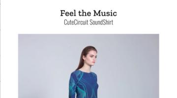 Cute Circuit, SoundShirt