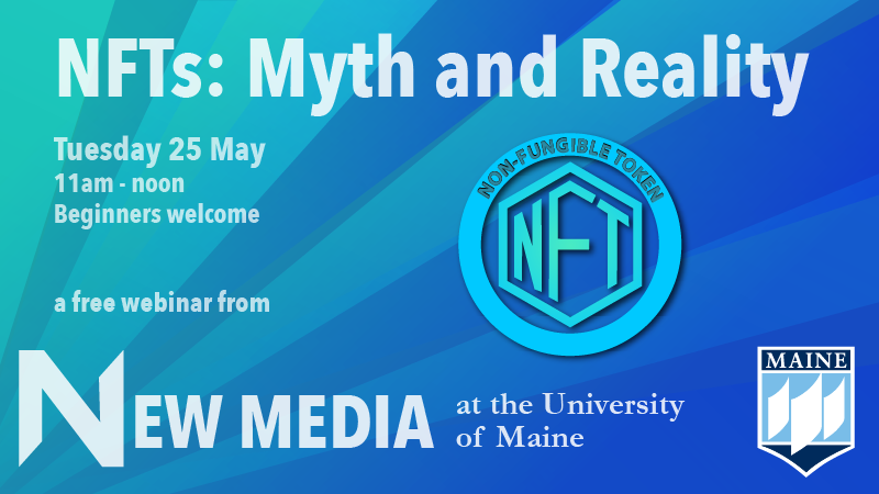 New Media NFT webinar