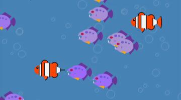 P5js Aquarium Simulation