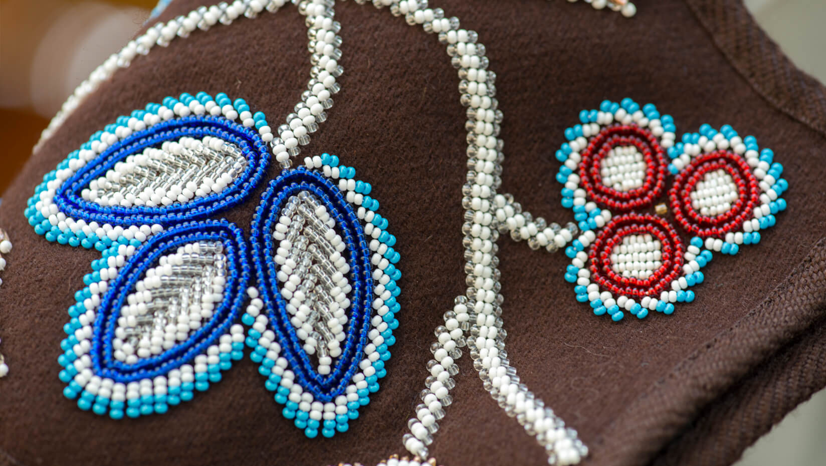 Beadwork done by Jennifer Neptune