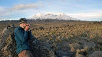 Gordon Bromley in Peru