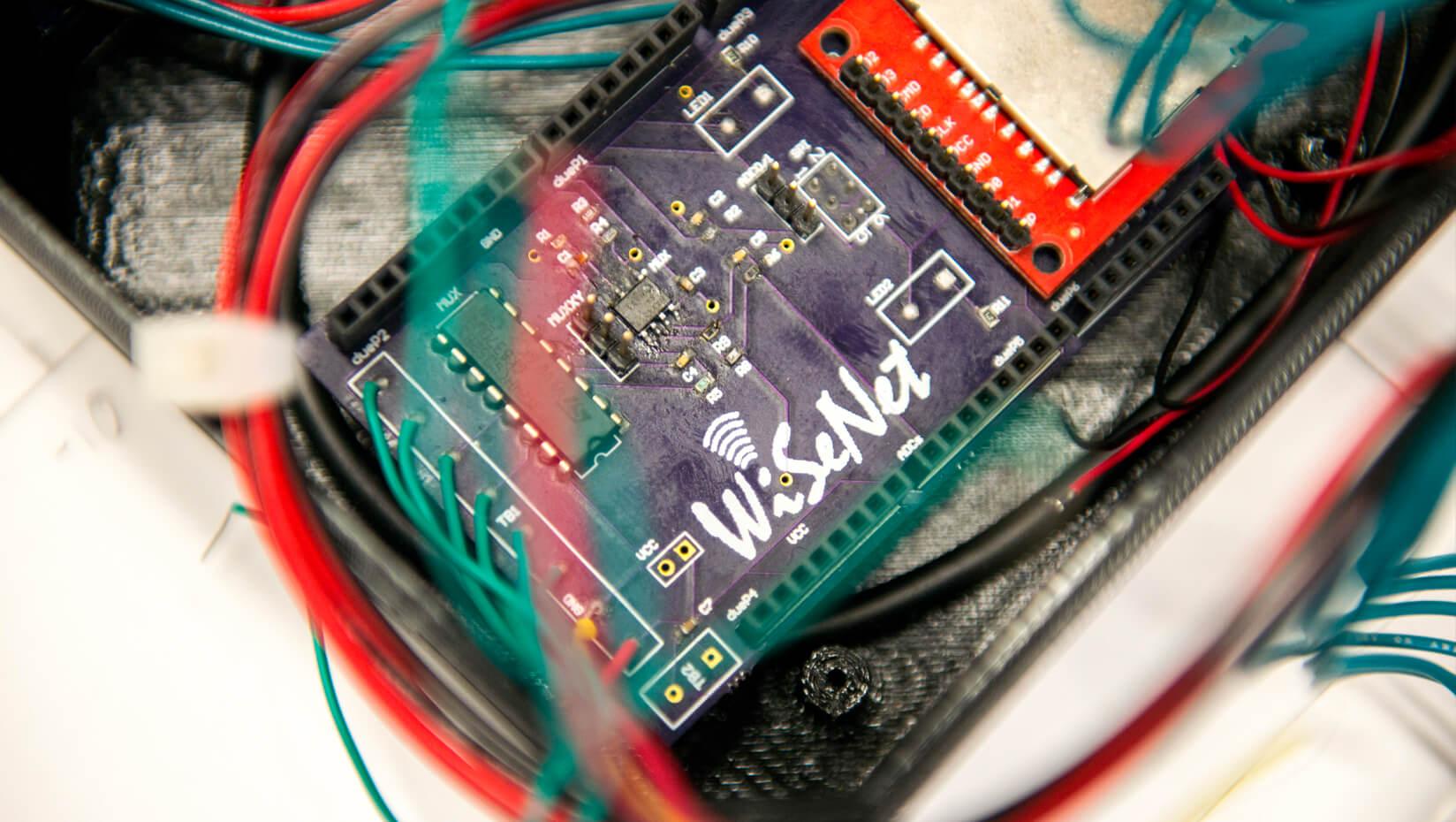 Wireless leak detection system
